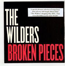 (GO496) The Wilders, Broken Pieces sampler - 2011 DJ CD