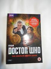 BBC DOCTOR WHO THE COMPLETE EIGHTH SERIES SEALED/ NEW (5 DISCS)