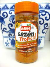 Badia Sazon Tropical with Annato & Coriander, 6.75-Ounce No Msg