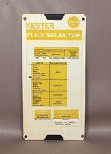 Paper Slide Rule Calculator Kester Flux Selector