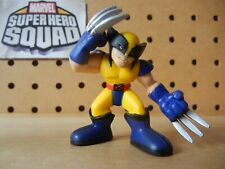 Marvel Super Hero Squad Wolverine Yellow & Blue Costume w/ Claws Forward X-Men
