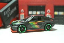 Hot Wheels Loose - '85 Honda CR-X - Black - Exclusive - 1:64