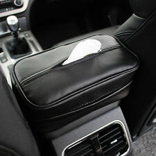 PU-Leather Tissue Boxes Car Pumping Paper Napkin Holder For Tissue Storage Tool