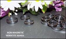 Unbranded Hematite Round Costume Rings