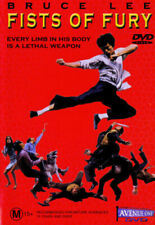 Fists of Fury Bruce Lee DVD All Zone PAL Sirh70