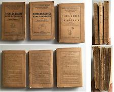 Tours - 3 livres- MAGIE Prestidigitation - Encyclopédie Roret - R BARBAUD - 1933
