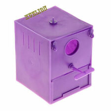 Plastic parrot nest box, Birds Box Finch Budgie, parrot house.