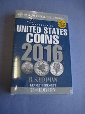 "2016 Whitman Official Blue Book of US Coins- 73rd Edition - Paperback ""NEW"""