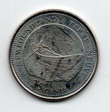 Canada - New Foundland - 25 Cent 1992