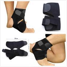 Ankle Support Brace Foot Guard Sprains Injury Wrap Elastic Splint Strap Sports W