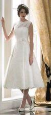Unbranded Regular Size Short Sleeve Wedding Dresses
