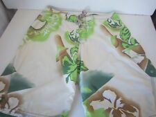 QUIKSILVER - Men's Board Shorts - Tan/Greens - SIZE - Relaxed Waist 33""