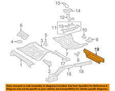 TOYOTA OEM Floor Rails-Rear-Rear Crossmember 5765407010