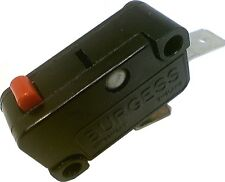 Burgess Microswitch Snap Action Micro Switch 15A SPST NO 27x10x16mm GVBF6
