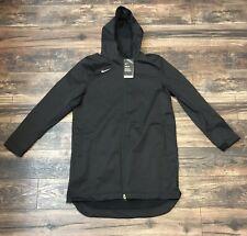 Nike Shield Protect Men's Large Rain Repellent Black Parka Jacket Tall