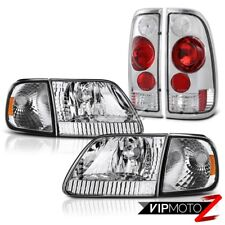 97 98 99 00 01 02 03 Ford F150 Headlights Corner Rear Signal Brake Tail Lights