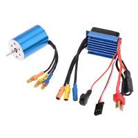 2435 4800KV Sensorless Brushless Motor 4P+25A ESC For 1/16 1/18 RC Car Parts