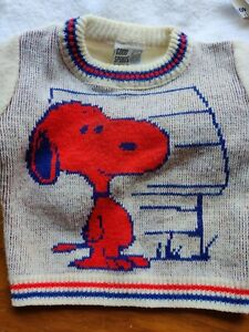 Size 4T 1980\u2019s Red Sweatshirt Cardigan