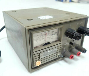 TESTED HP/AGILENT 6212A BENCH TOP DC POWER SUPPLY. OUTPUT 0-100 Vdc @ 100ma