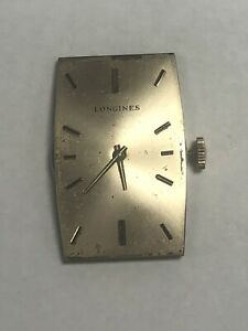 Longines Manual Wind Watch Movement Caliber 523 Working Condition