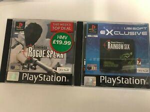 Rainbow Six & Rainbow Six Rogue Spear For The Sony PlayStation 1
