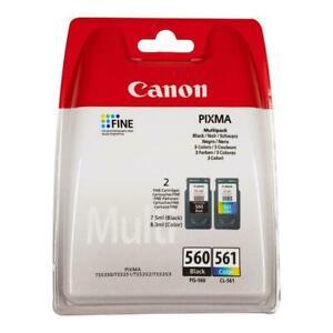 Original Canon PG560 & CL561  Ink Cartridges for Pixma TS5350