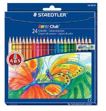 Staedtler Noris Club 144 Coloured Pencil Pack of 24 (144 NC24)