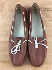 Cole Haan Grant Womens Leather Boat Shoe Moc Toe Driving D42833 Size 10.5 B