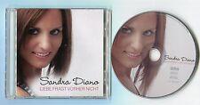 Sabrina Diano - cd-PROMO - LIEBE FRAGT VORHER NICHT © 2014 - German-1-Track-CD