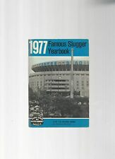 Original   1977   Louisville Slugger Famous Slugger Yearbook