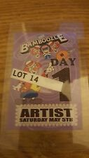 Bamboozle 2007 Artist Pass My Chemical Romance Paramore Saves The Day Muse