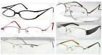 Various Semi-Rimless Reading Glasses/Metal Or Plastic Frame Specs/Mens Or Womens