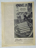 1944 Magazine Advertisement Page For Skinless Frankfurters & Wieners Vintage Ad