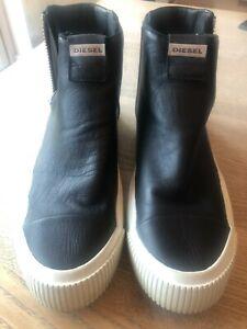 Diesel mens high top sneakers size 43