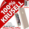 Krusell Arvika Cover 360 Protection Case Glass Screen Apple iPhone 7 Plus 8 Plus