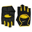 Nike Mens Lightweight Cycling Gloves Black Yellow Sports R