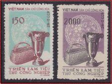VIETNAM du NORD N°142/143** Emis Neufs sans Gomme, 1958, North Vietnam NGAI MNH