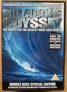 Billabong Odyssey DVD 2003 Surfing Documentary Feature Surf Film Movie  2-Discs