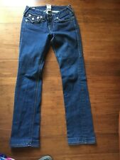 True Religion Brand Jeans Womens Stretch Cotton Bootcut Leg Fit Size 27
