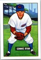 CONNIE RYAN 1951 Bowman Reprint #216 ($0.75 MAX SHIPPING)