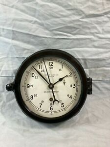 Vintage US Government Chelsea Co Boston clock