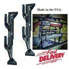 Truck Rear Window Rifle Shotgun Gun Holder Rack Vehicle Pickup Mount Back Metal