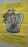 Filmplakat,Plakat, THE PRISONER OF ZENDA, PETER SELLERS,#106