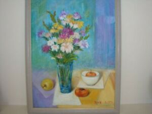 Wen GuoYong Contemporary Chinese Artist's Original Oil Painting On Canvas Signed