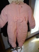 First Impressions Snow Suit Size 3-6 Months Baby Girls Pink NWT