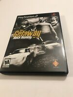 Getaway Black Monday Sony PlayStation 2 2005 CIB Complete Video Game PS2 Tested