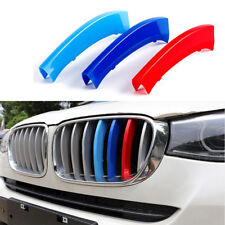 Grille Insert Trims for BMW X1 E84 09-2015 M Color Car Plastic Strip Cover