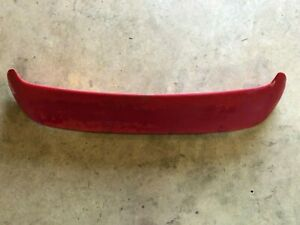 02 03 2002 2003 MAZDA PROTEGE 5 REAR SPOILER WING HATCHBACK RED SHOWS PAINT WEAR