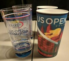 4 Us Open 2009 Cups - Grey Goose and Lenticular Cup - Plastic