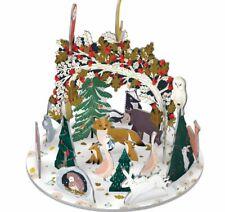Roger La Borde Paw Prints In The Snow Christmas Advent Calendar 3D Pop & Slot